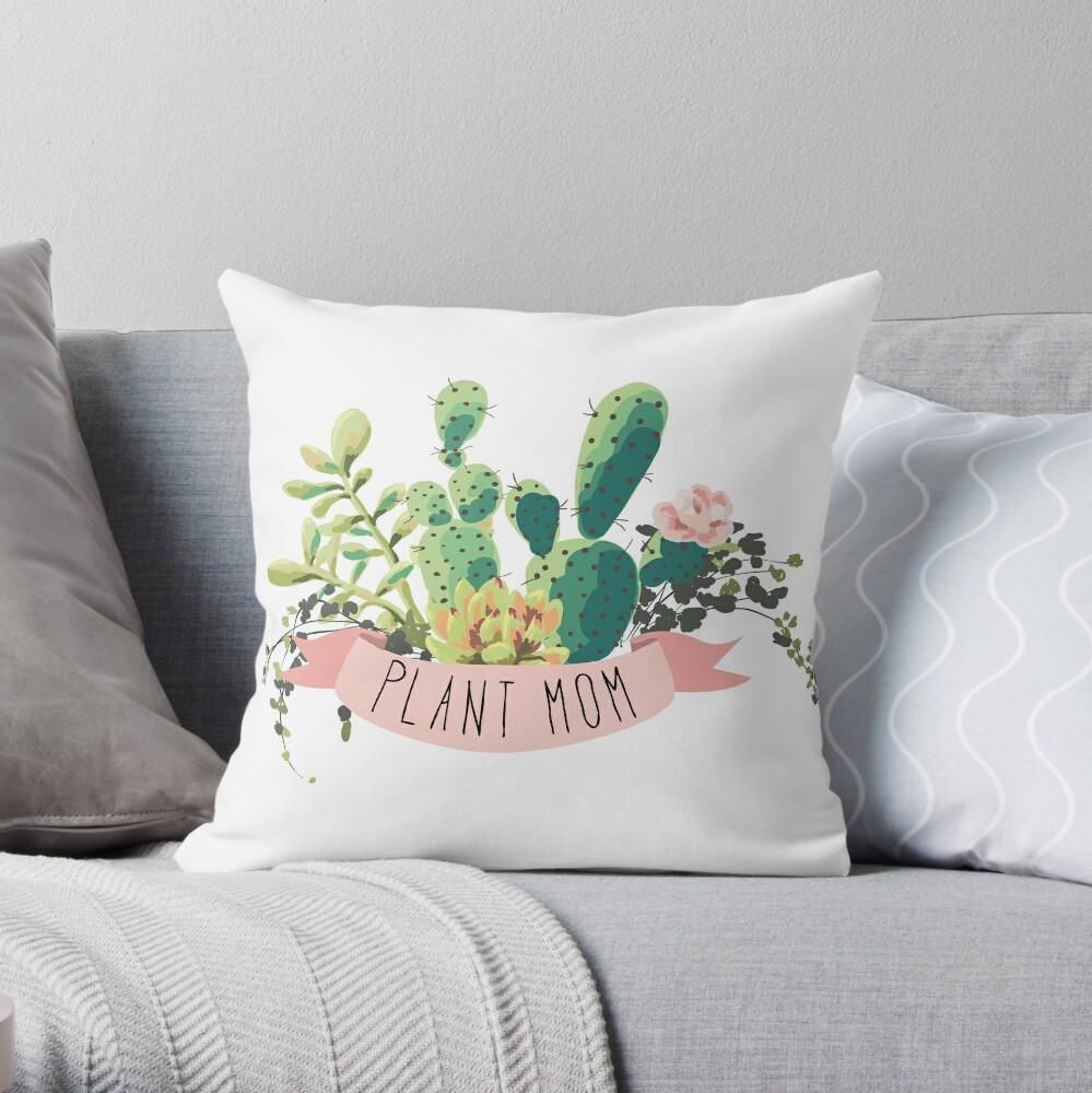 Pflanze Mama Dekokissen