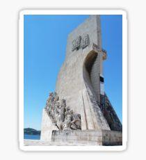 Lisbon, 2011, Discoverers Monument, Belem #1 Sticker
