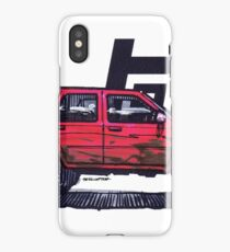 2nd Gen 4Runner TRD - Red iPhone Case/Skin
