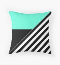 Asymmetrical patchwork 2  Throw Pillow
