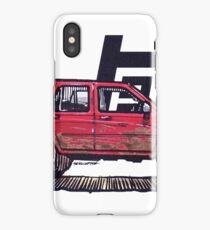 2nd Gen 4Runner TRD - River Red iPhone Case/Skin