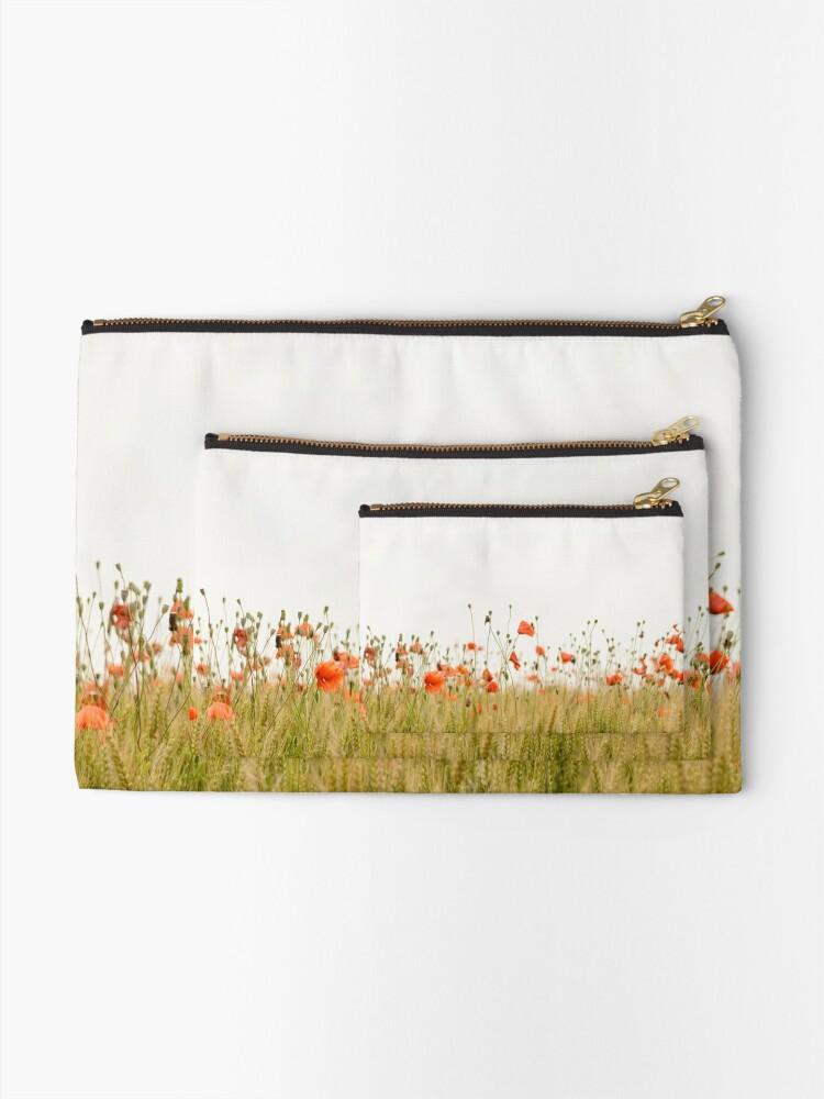 Alternative Ansicht von Mohnblumen Täschchen