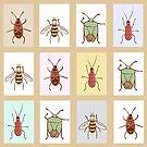 beetles by Elsbet
