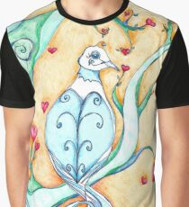 Colorful Love Graphic T-Shirt