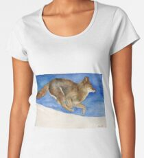 Clever Coyote Women's Premium T-Shirt