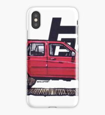2nd Gen 4Runner TRD - Cherry iPhone Case/Skin
