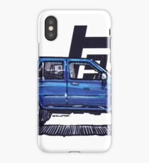 2nd Gen 4Runner TRD - Deep Blue iPhone Case/Skin