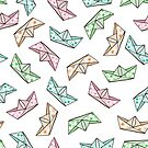 Paper boats by Elsbet