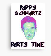 Paddy Schwartz, Party Timez? Canvas Print