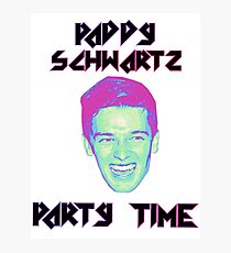 Paddy Schwartz, Party Timez? Photographic Print