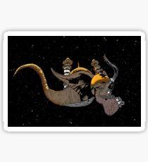 Surreal Elephant Sticker