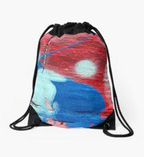 Worlds Away Drawstring Bag