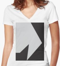 Hypnotzd Abstract 38 Women's Fitted V-Neck T-Shirt