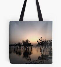 Mangrove sunset Tote Bag