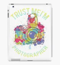 Trust me I am art photographer iPad Case/Skin
