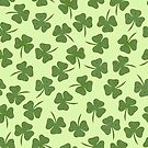 Light Coloured shamrock pattern by Elsbet