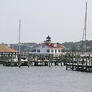 Roanoke Island Lighthouse by Karl R. Martin