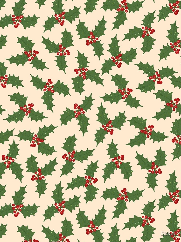 Christmas holly by Elsbet