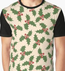 Christmas holly Graphic T-Shirt