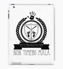 Non Timebo Mala iPad Case/Skin