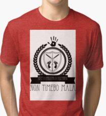 Non Timebo Mala Tri-blend T-Shirt
