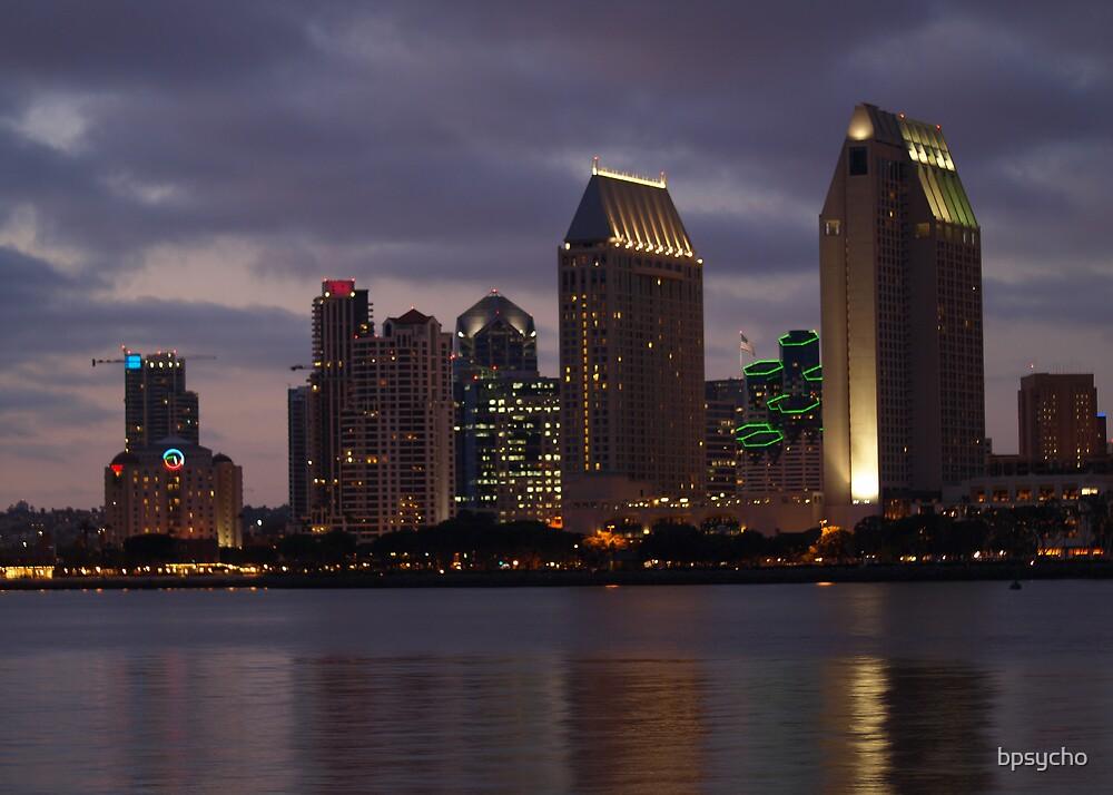 San Diego Skyline by bpsycho