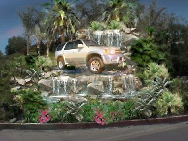 Water Feature for Car Displays  by Stephan  Kraft