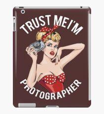 Pin Up Photographer iPad Case/Skin