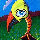 Bird's Eye (viewing) by Charles  Jones
