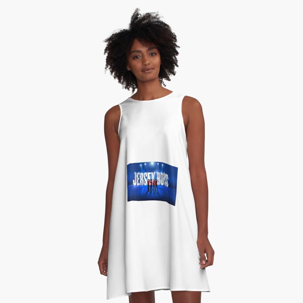 Jersey Boys A-Line Dress Front