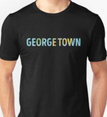 George Town World Map - Cool Cayman Islands Traveler Gift Unisex T-Shirt