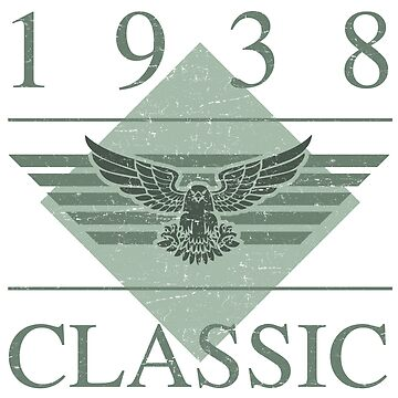1938 Classic Eagle by thepixelgarden