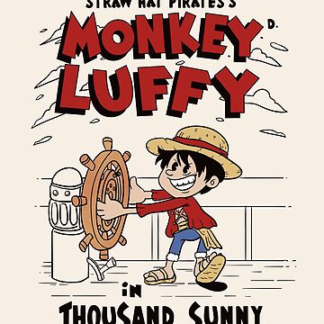 Steamboat Luffy by xiaobaosg