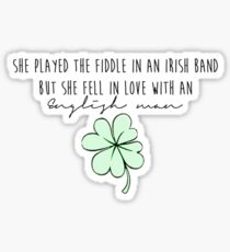 Galway Girl*- Ed Sheeran Sticker