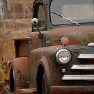 Rusty Old Dodge! by Pamela Hubbard