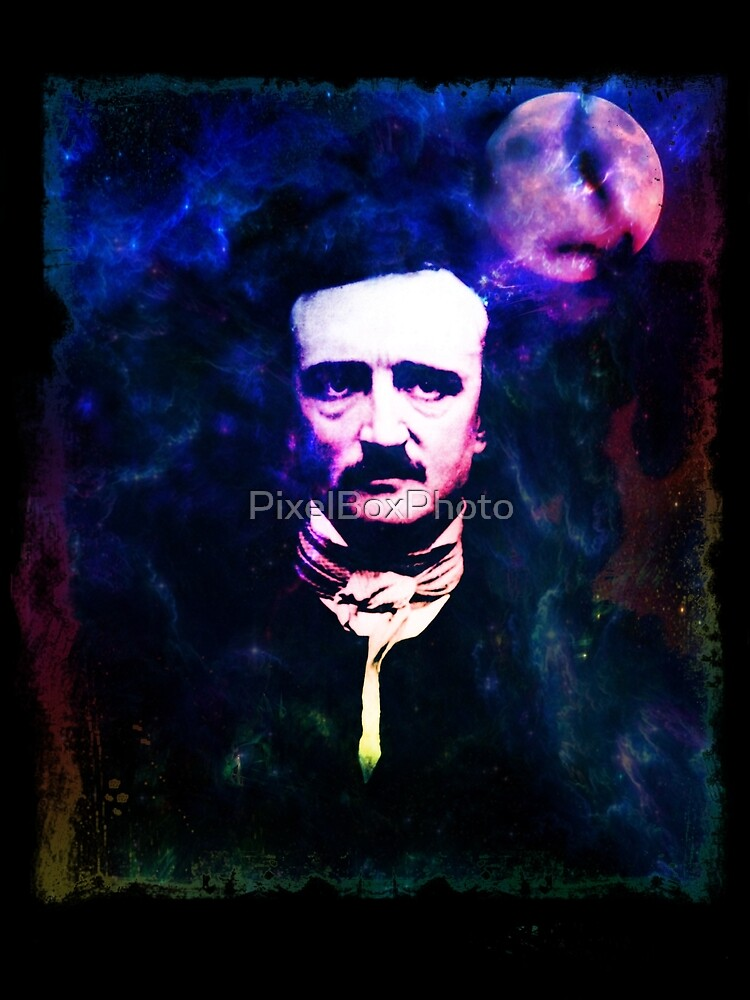 Edgar Allan Poe Pop Art by PixelBoxPhoto