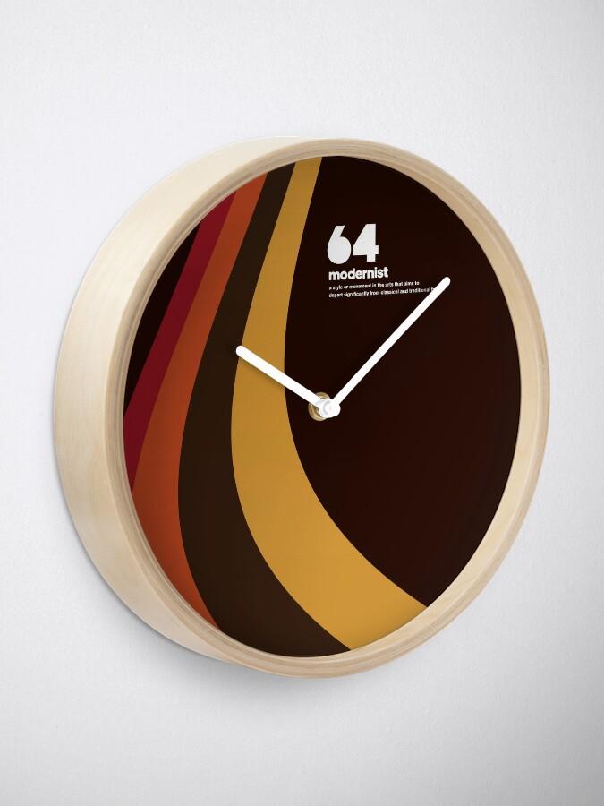 Alternate view of 64 Modernist Clock