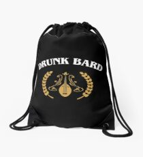 Drunk Bard Meme Drawstring Bag