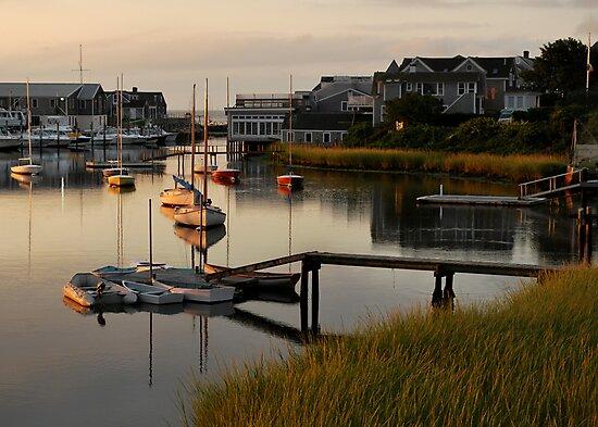 Wychmere Harbor Sunrise by Kamalyn