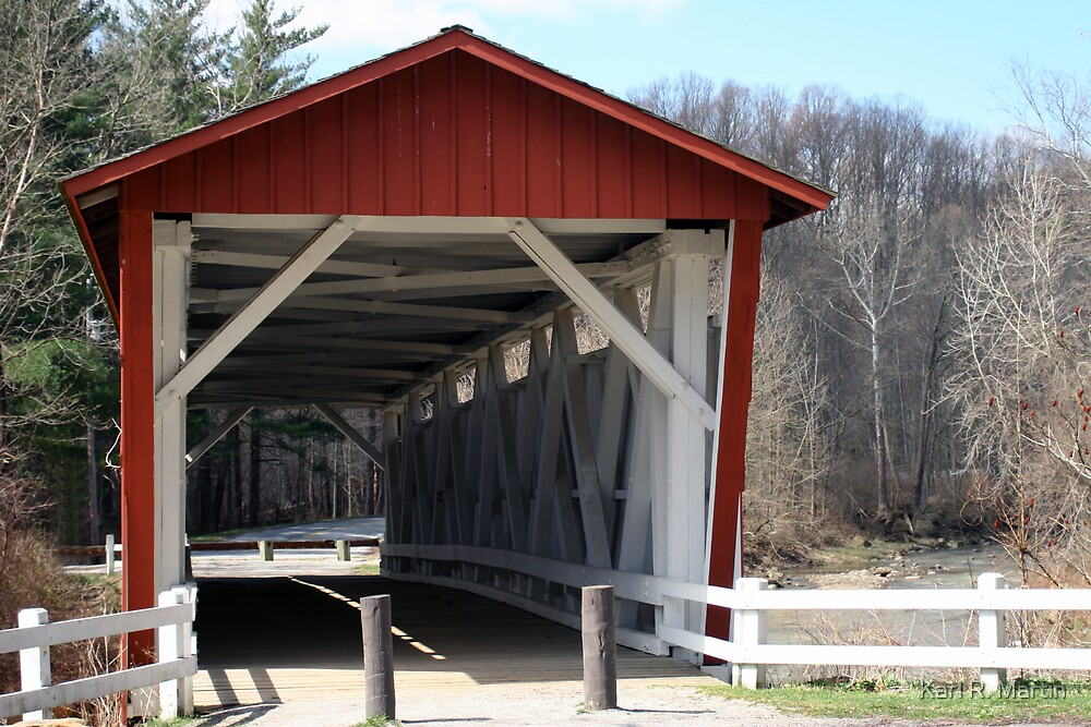 Covered Bridge by Karl R. Martin