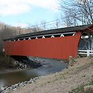 Covered Bridge by Karl R. Martin