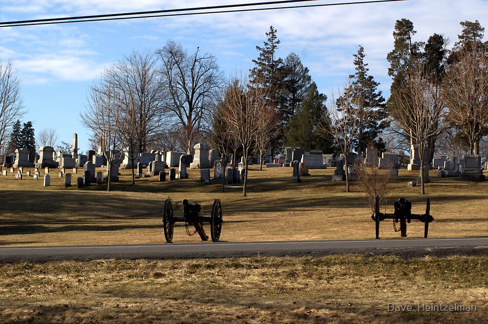 EVERGREEN CEMETERY by Dave  Heintzelman