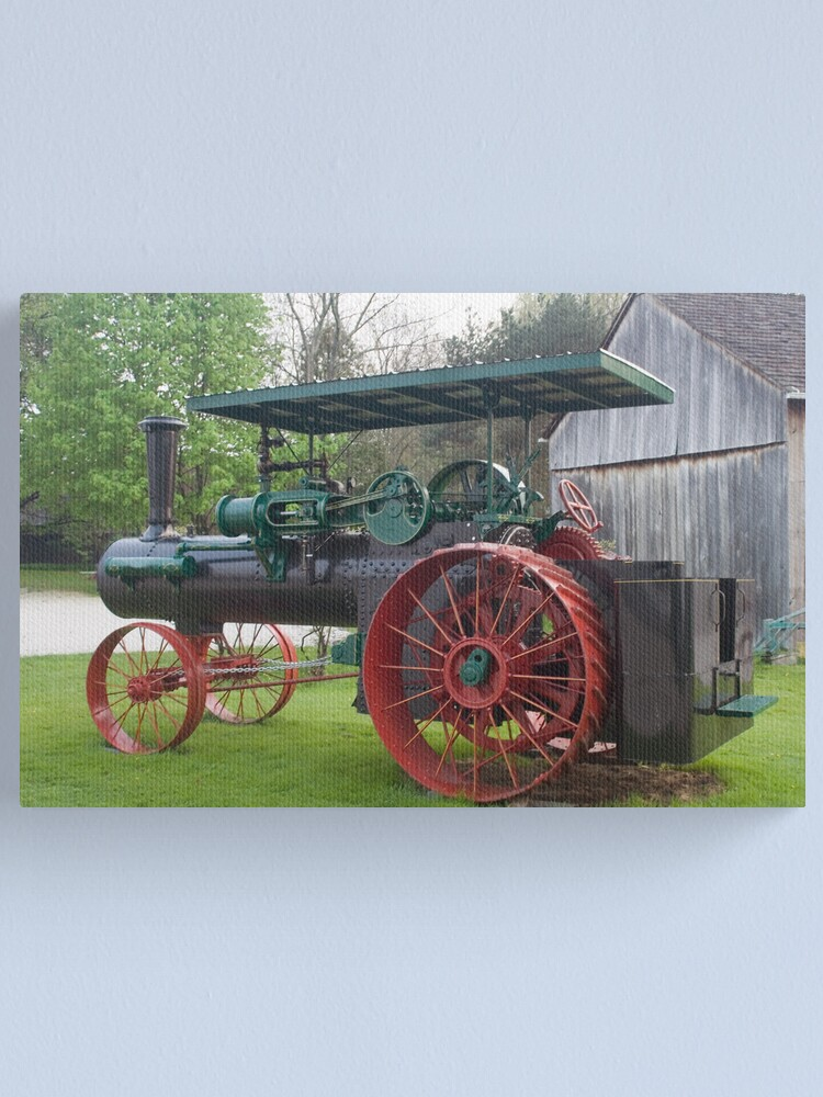 Alternate view of Antique Tractor Canvas Print