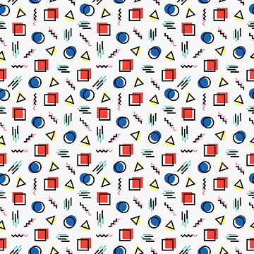 PoMo Pixel - Vaporwave Inspired Memphis by CWspatula