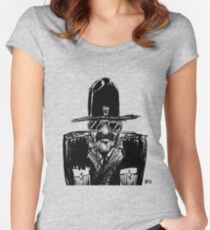 State Trooper Fitted Scoop T-Shirt