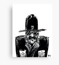 State Trooper Canvas Print
