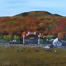 Highland Games, Loon Mountain by Jill Galvin