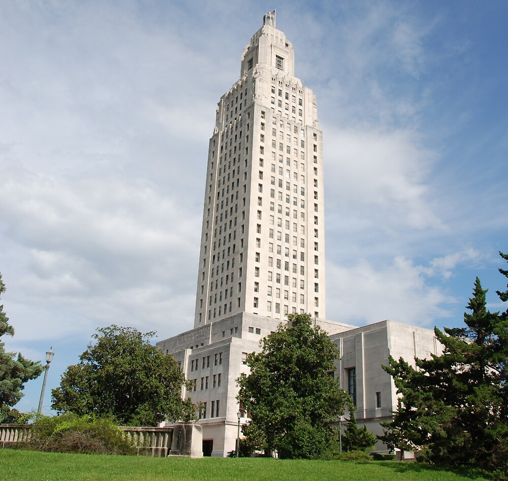The Louisiana State Capitol by Gary Pearce