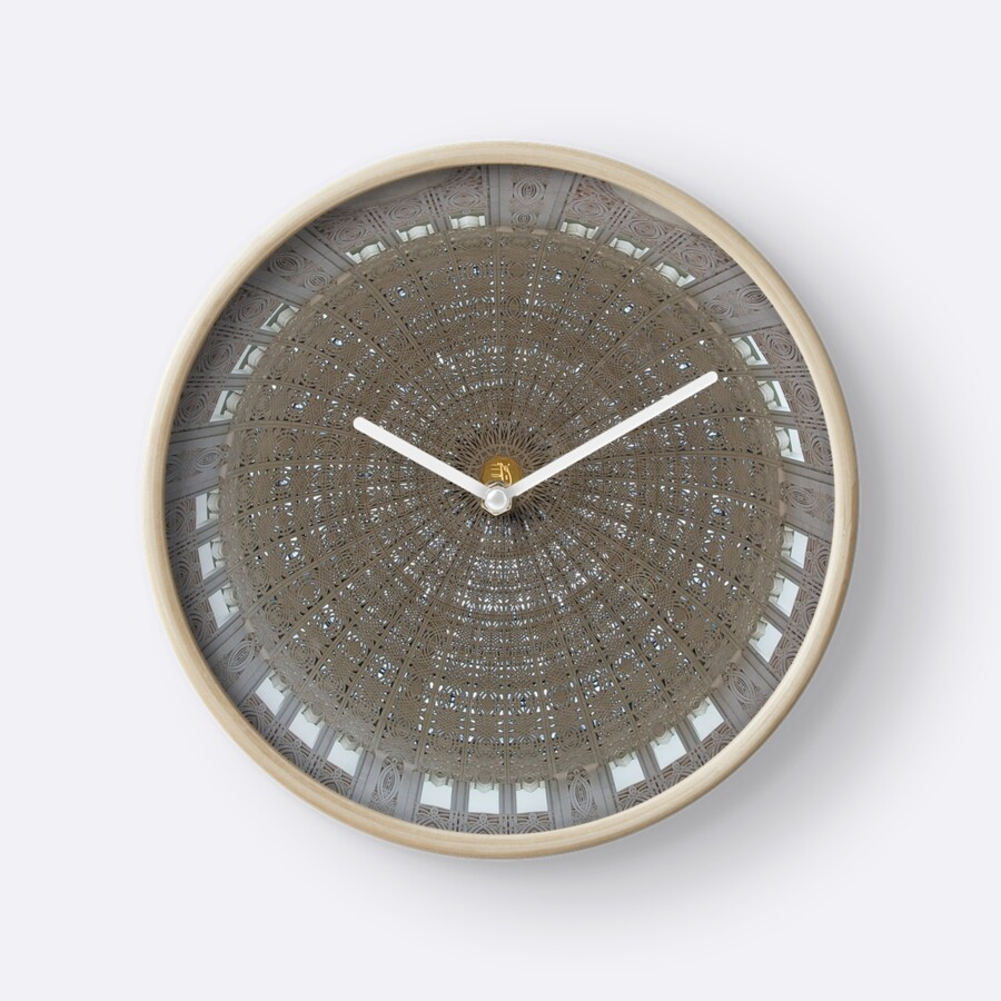 I Just Got A Sale Today On This Clock Which Has An Image Of The Round, Dome  Ceiling Of The Bahau0027i Temple In Wilmette, Illinois. I Must Say The Image  Placed ...