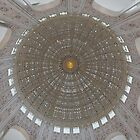 Baha'i Temple Dome Ceiling by Adam Bykowski